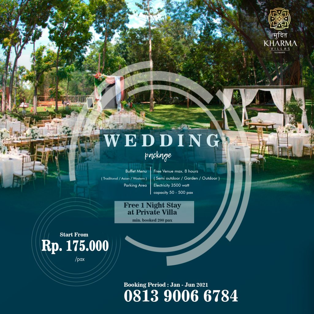 Promo Wedding Package